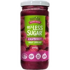 Natvia Raspberry Fruit Jam Spread Sugar Free 240g