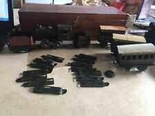 BING TINPLATE CLOCKWORK LOCOMOTIVE LMS & GWR CARRIAGES AND TENDER KBN