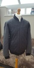 River Island Men's Faux Leather Outer Shell