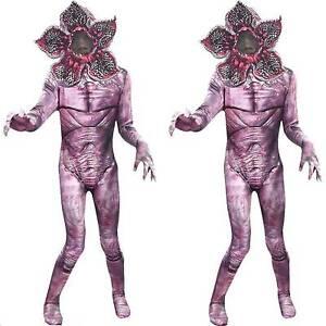 Child Stranger Things Demogorgon Costume The Monster Jumpsuit Mask Fancy Dress