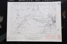 Vintage Norfolk Ordnance Survey Map - Sculthorpe - Dunton - Hempton