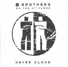2 Brothers On The 4th Floor  ‎– Never Alone      cd single in cardboard