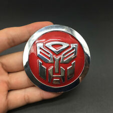 Metal Transformers Decepticon Autobot Emblem Car Motorcycle Badge Decal Sticker