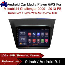 """9"""" Android 9.1 Car Stereo non dvd Player GPS Head Unit For Mitsubishi Challenger"""
