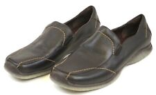 Etienne Aigner EA Brown Leather Loafers - Sz 8