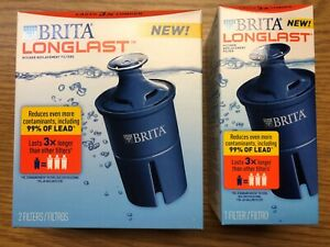 3x Brita Longlast Water Filter Replacement  - NEW Sealed