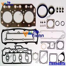 3TN100 3TN100E Full Overhaul Head Gasket Set kit For Yanmar Engine Daewoo DSL801