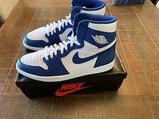 Nike Air Jordan 1 Retro High OG Storm Blue Size 12 555088-127 Rare