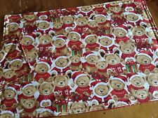 Childrens Handmade Christmas Placemat with matching coaster