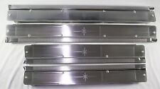 1958-60 Lincoln 4-Door Sill Aluminum Plates Set of 4 New Acid Etched as Original
