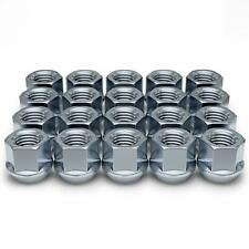 Chrome Plated Open-End Bulge Acorn Wheel/Lug Nuts, M14x1.5, 19mm Hex, Qty 32,