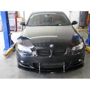 APR Performance Carbon Fiber Front Wind Splitter w/ Rods for BMW E92 335i 07-10