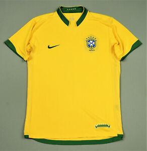 Brazil Nike Shirt Home Jersey 2006-08 Size M
