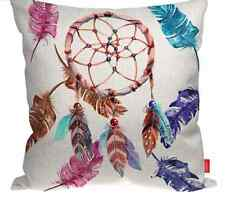 Boho Dream Catcher Feather Tribal Funky Cushion Cover Case Home Decor Girls Room
