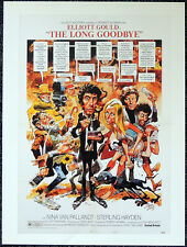 THE LONG GOODBYE 1973 FILM MOVIE POSTER PAGE . ELLIOTT GOULD ROBERT ALTMAN . V10
