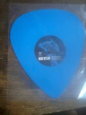 BOB DYLAN - BLUE PLECTRUM SHAPED VINYL - LIMITED EDITION of 500 p. NEW