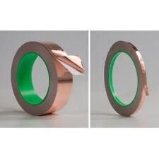 New listing Guitar Pickup Copper Foil 3-50mmx20m Shielding Screening Tape Standard Adhesive