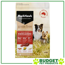 Black Hawk Holistic K9 Dry Grain Free Kangaroo For Adult Dogs 2.5kg