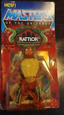 Masters of the Universe He-man New Rattlor vintage figure