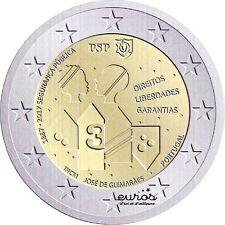 Pièce 2 euros commémorative PORTUGAL 2017 - Anniversaire de la Sécurité Publique