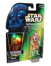 Skywalker Luke x-wing 1996 POWER OF THE FORCE POTF Star Wars Tarjeta Verde