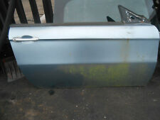ALFA ROMEO GT 937 COUPE 2005 OS DRIVER SIDE BARE DOOR SHELL LIGHT BLUE