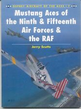 Osprey-WWII-Aviation-USAAF-RAF-ETO-MTO-P-51 Aces 9th & 15th AF-Colors-Guide!