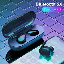 New listing Tws Bluetooth Wireless Earphones Stereo Headset In Ear Mini For Android iOs Us