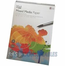 West Design A3 Mixed Media Paper Artist Pad. Spiral Bound. 250gsm. 30 Sheets