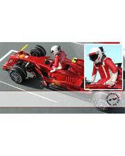 1/24 RAIKKONEN '07 F1 DRIVER FIGURE PUSHING OUT REVELL