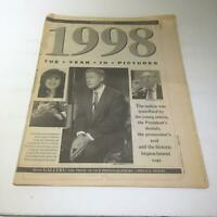 NY Daily News:12/27/1998, 1998 The Year in Pictures Bill CLinton Monica Lewinsky