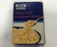 Vintage Kraft Cheese and Macaroni Dinner Crayons Promotional Box of 24 crayons