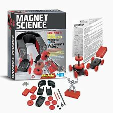 Imán de la ciencia y experimentos Juegos Kidz conjunto aprender principios de física