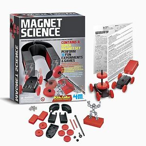 Kidz Magnet Science and Experiments Games Set Learn Physics Principles