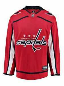 Washington Capitals Fanatics Red Breakaway NHL Hockey Home Jersey