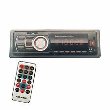 Autoradio Stereo Bluetooth Fm Auto Mp3 Usb Sd Card Aux Radio con telecomando 626