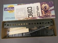 Ho Scale Athearn Undecorated (Green) Heavyweight Coach Kit