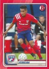 2020 Topps Bowman Major League Soccer Red Parallel /5 MLS (#1 - #100) MLS
