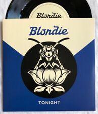 "BLONDIE -Tonight- Rare 1 Sided 7"" Originally Sold At The Blondie Store, Camden"
