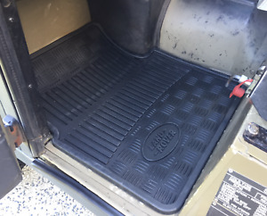 Land Rover Defender TD5/Perentie Front Rubber Mats Genuine STC50172