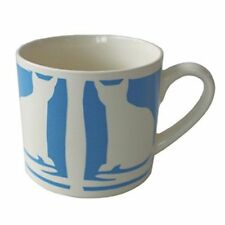 Blue Ceramic Pottery Mugs