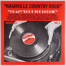 NASHVILLE COUNTRY ROCK: Vol 4 various ROCKABILLY Redita Holland LP NM-