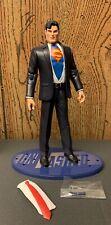 DC Direct UnMasked Secret Files Series Clark Kent Superman Action Figure Loose