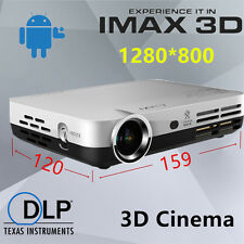 NIERBO 3D Projector LED Full HD 1080P Android4.4 1280x800 Home Theater Mini Wifi