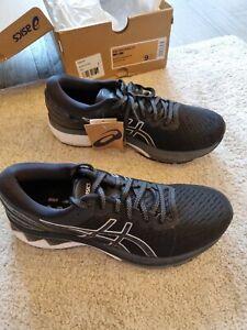 Asics Gel Kayano 27 Mens Running Shoes - Black, size 8,BNIB