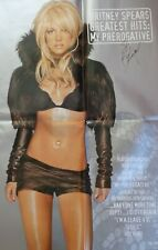 [RARE] Britney Spears HUGE 'Hits: My Prerogative' Promo Poster - AUTOGRAPHED