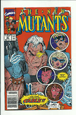 NEW MUTANTS #87 (1990) Newsstand - 1st Appearance of Cable - VF