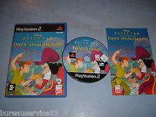 DISNEY PETER PAN LA LEGENDE DU PAYS IMAGINAIRE PS2 COMPLET (envoi suivi)