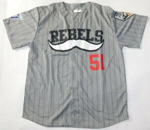 New NWOT LAS VEGAS 51s #51 UNLV Rebels SGA Alien City Baseball Jersey Men's XL