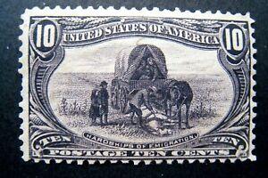 1898 US S# 290, 10c Trans-Mississippi Expo Hardships of Emigration MPH OG vg-f *